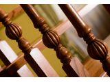 Лестница Традиция Класик 010  г-образная открытого типа (балясины Цитрон).