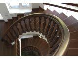 Сходи Солід Класік 030 з комбінованими поворотами на бетонній основі (вигляд зверху)