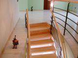 Лестница Солид Метал 010 на бетонной основе (выход на второй этаж)