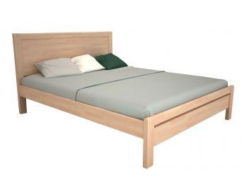 Кровать Скарлет белого цвета, материал - бук срощенный (общий вид)