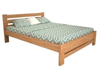 """Ліжко Сільвана """"плюс"""" натурального кольору, матеріал - бук зрощений (загальний вигляд)"""