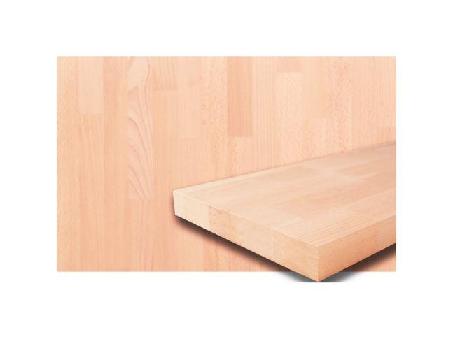 Мебельный щит 1800 мм х 420 мм сращенный бук