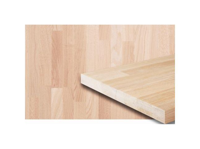 Мебельный щит 2600 мм х 1200 мм сращенный дуб