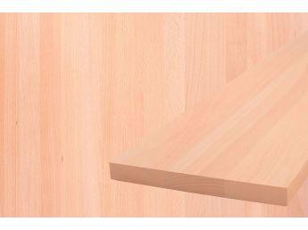 Мебельный щит 900 мм х 600 мм бук цельный