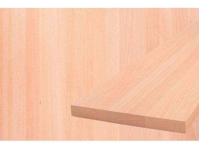 Мебельный щит 1200 мм х 600 мм бук цельный