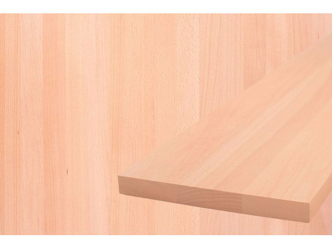 Мебельный щит 900 мм х 900 мм бук цельный
