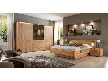 Спальня Николь натурального цвета, материал - сращенный/цельный бук (в интерьере)