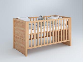 Купить Детскую кроватку трансформер Alpaka  материал - бук сращенный для новорожденных и младенцев общий вид