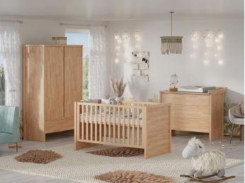 Купити Дитячу Alpaka натурального кольору, зрощений бук, покриття лляна олія (загальний вид)