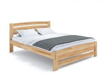 Купить Кровать София Еко натурального цвета, материал - бук срощенный/цельный (общий вид фон белый)