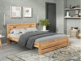 Купити Спальню Селена Еко натурального кольору, матеріал зрощений/цільний бук (в інтер'єрі загальний вид)