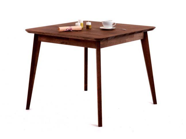 Стол Каллисто коричневого цвета, материал - срощенный бук (общий вид).