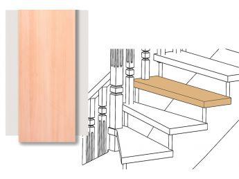 Розміщення сходини в конструкції сходів