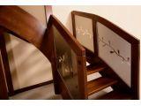 Лестница Модерн Гласс 020 г-образная открытого типа (ограждение).
