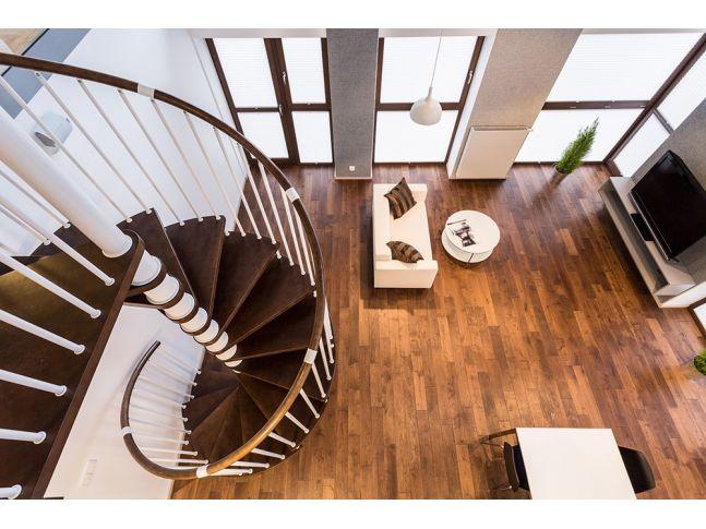 Винтовая лестница Спира Метал 040 на больцах (вид сверху)