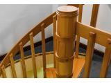 Винтовая лестница Спира Классик 010 на больцах (больцы)