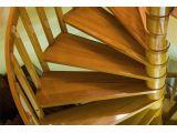 Винтовая лестница Спира Классик 010 на больцах (соединение деталей)