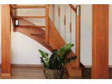 Лестница Модерн Метал 010 п-образная открытого типа (вид слева)