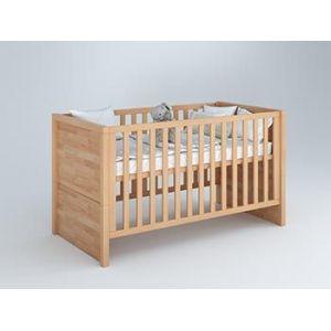Дитячі ліжечка: трансформери, для немовлят, від 2 і 3 років з дерева