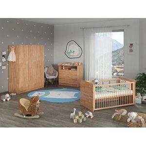 Коллекция Детская Whity: кроватка, пеленальные комоды, шкафы, стеллажи