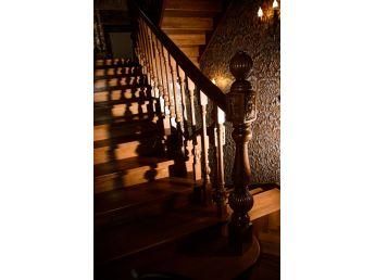 Лестница Традиция Класик 050 вид слева