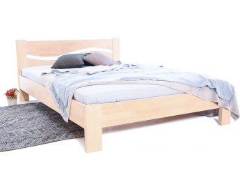 Кровать Венеция бук двуспальная беж срощенная 1600 х 2000